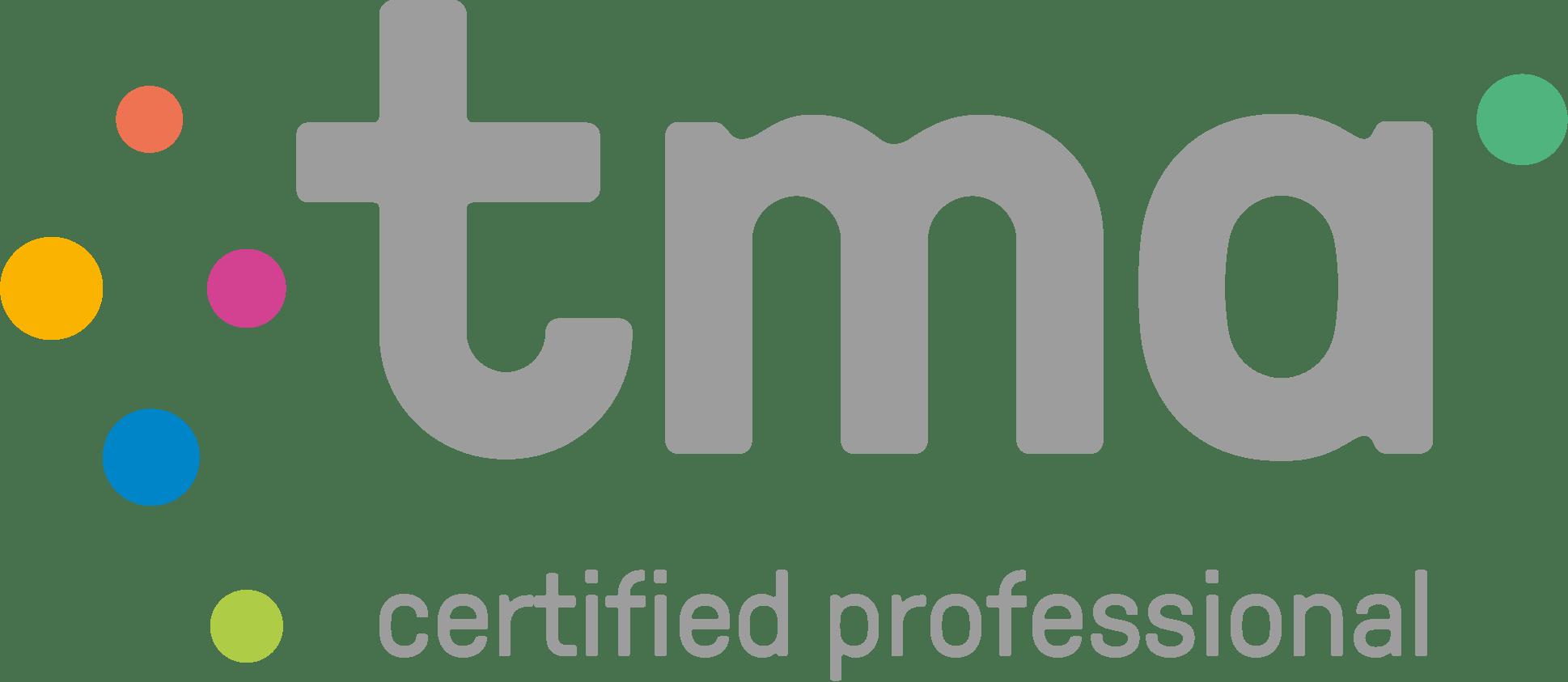 TMA Certified professional